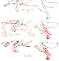 Paw redline for Boribaby by FlareAndIcicle
