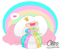 The Rainbow Princess by Cilitra