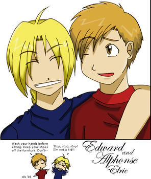 The Brothers Elric by corilefay