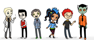 HiNaBN Chibis :: by ditzyRinny
