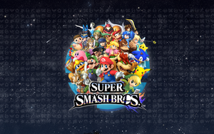 Smash Bros. Wallpaper by TheCongressman1