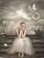 Sadness from Heaven by JDewantiArt