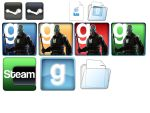 Gmod Icon pack by rogelead