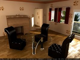 My first interior by shahjhan
