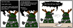A Dalek's letter to Santa by caycowa