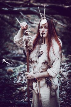 Forest Witch II. by LucreciaMortishia