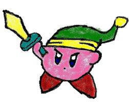 Sword Kirby by ConiKirbyKirby