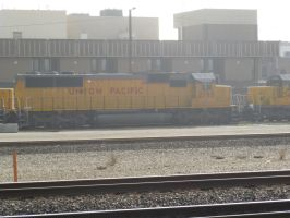 UP SD60 2198 by BNSF