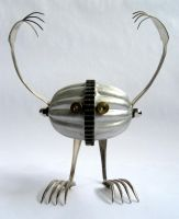 Roger - robot assemblage by adoptabot