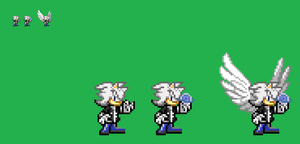 Zach the Hedgehog Sprite by zacharyleebrown