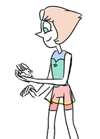this gem is holding a bunny by Cartoonishly