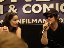 lfcc 2013 Norman Reedus and Sarah Wayne Callies by BiffTech