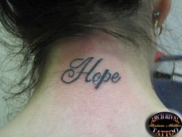 Hope by theothertattooguy