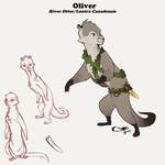 Oliver - River Otter - Character Design 2015 by Luna-Sapphira-Wings