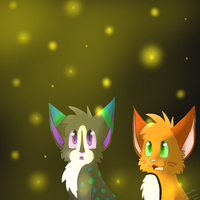 Fireflies by BluestarzStrike