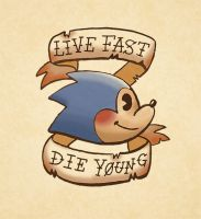 Live Fast, Die Young by Cup-Kayke