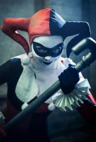 Harley Quinn -and pipe by simplearts