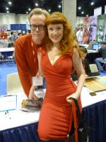Bruce Timm and I by theprincessbee