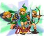 Link to the past poster by ayato-the-tuner