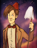 Matt Smith by reaperfox