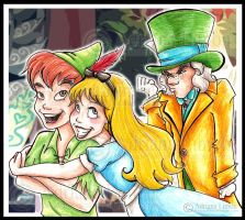 Jealous Hatter by madamenanas