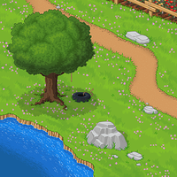 400 px isometric test piece by gelerli