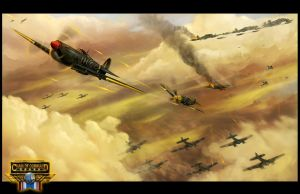 World War 2 airbattle - Chain of Command by RogierB