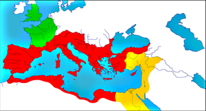 Roman Empire in 271 - Roma, Treveris, Palmyra by woodsman2b