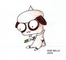 .Smeargle by Dor-Belle
