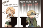 Silent Hill: the difference between man and woman by OrangeLightning123