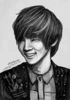 SHINee's Key sketch 1 by yoojeong