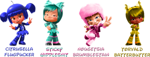 Wreck-It Ralph :Sugar Rush Speedway Re-Colors: by Xelku9