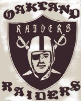 Oakland Raiders by aag1025