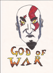I Am the God of War by venom9999