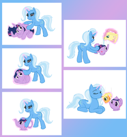 Great and Powerful Trixie's Afternoon Tea TF by MistressCelestia