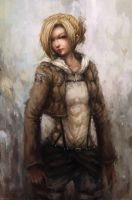 Annie Leonhardt by Ku-On