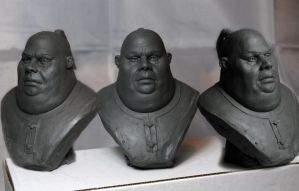 fat man maquette by MatthewLambert
