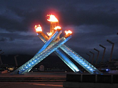 Vancouver Olympic Cauldren by Greylight-S