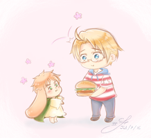 Want a Burger, lil' dude? - APH by Six-0-6