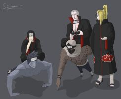 Akatsuki life by AnimeFreak00910