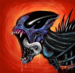 Alien redesign color by ArtNomad
