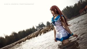 Nagi no Asukara - Manaka Mukaido by Bakasteam