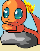Charmander by NeverWastedTime