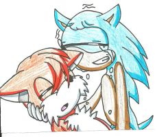 Sonic and Tails: I'll be there by cmara