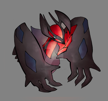 Yveltal, Pokemon Y by Natachouille