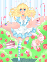 Alice in Wonderland by IAlice-chan