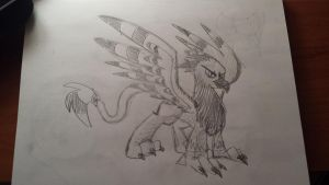 Griffon Design Concept by drawponies