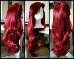 Little Mermaid Inspired Wig by TheRealLittleMermaid