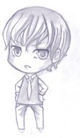 Commishexamp chibi male sketch by Anako-Kitsune