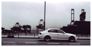 beemer on the highway by detune